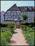 Pavillon in garden