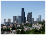 Downtown Seattle from Beacon Hill