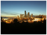 Downtown Seattle from Beacon Hill at Night (I)