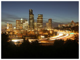 Downtown Seattle from Beacon Hill at Night (II)