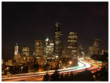 Downtown Seattle from Beacon Hill at Night (III)
