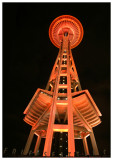 Space Needle Celebrates Wear Red Day