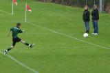 Goal! Boys play soccer too.