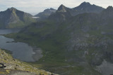 Looking back toward Bunesfjorden.  Can you see our tent?