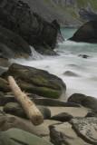 Some waves at Kvalvika beach