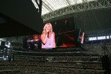 Lee Ann Womack on the HDTV screen