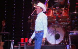 George Strait takes it all in