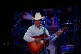 George Strait - having fun on stage