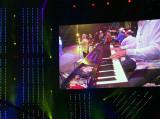 Keyboard on Stage