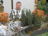 Manfred Grünig, the tree man, with all-new fall cottonwoods