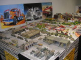 HO-scale vehicle diorama