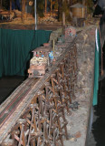 big G-scale trestle outdoors