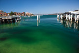 Manly Harbour at wharf