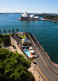 Sydney Opera House with Park Hyatt Hotel in foreground