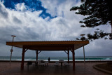 Manly shelter during gale