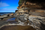 Dee why sandstone and rocks