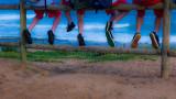 Kids legs at North Avalon Beach