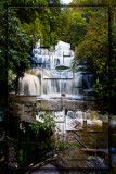 Purakaunui Falls collage