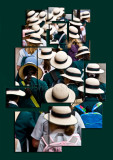 Sea of hats collage