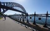 Sydney Harbour Bridge and railings