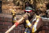 Norman, aboriginal busker