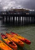 Kayaks at Manly
