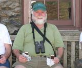 Dave's happy. He's got ice cream.