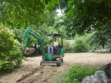 starting footing for retaining wall