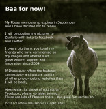 Baa For Now!