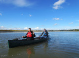 Canoeing on The River Alde