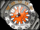SEIKO 5 SPORTS AUTO DIVER SNZF49 SNZF49J1 ORANGE, JAPAN MAKE