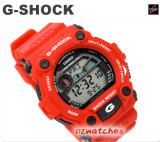 CASIO G-SHOCK 1000 HOUR STOPWATCH G-7900 G-7900A-4 RED
