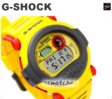 CASIO G-SHOCK LEGENDARY G-001 G-001-9 YELLOW, LIMITED  EDITION