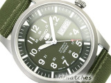 SEIKO 5 SPORTS AUTO SNZG11 SNZG09J1 GREEN NYLON JAPAN MD