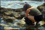 Ingrid on Romanos beach