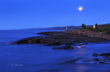 133.1 - Artists Point, Early Morning Moonlight