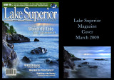 Lake Superior Magazine, March 2009 Cover