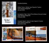 Lake Superior Magazine, Three Inside Feature Images 2/08, 11/08, 1/09