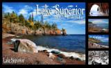 Lake Superior Magazine 2010 Calendar Cover & Four Inside Images