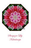 8 - Stargazer Lily Kaleidoscope Card