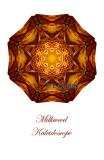 17 - Milkweed Kaleidoscope Card