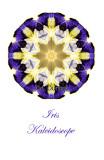 21 - Iris Kaleidoscope Card