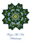 22 - Forget-Me-Not Kaleidoscope Card