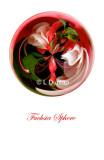 69 - Fuchsia Sphere Card