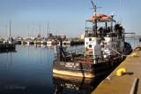 TS23: Tugboat L. L. Smith Jr. At Duluth Dock