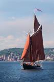 Tall Ships TS9: Schooner Roseway, Vertical, Duluth Shore