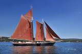 Tall Ships TS8: Schooner Roseway, Horizontal, Duluth Shore