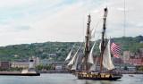 Tall Ships TS7: US Brig Niagara Approaching Duluth Ship Canal