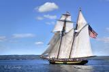 Tall Ships TS15: Pride Of Baltimore II Along Duluth Shore