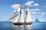 Tall Ships TS14: Pride Of Baltimore II And US Brig Niagara On Lake Superior